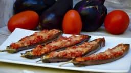 Aubergines gratinées au parmesan