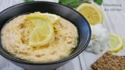 Houmous au citron