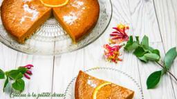 Gâteau à la patate douce à l'orange