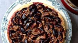 Tarte aux figues et crème d'amande