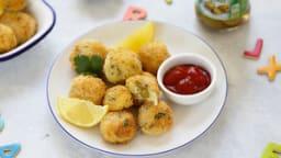 Croquettes de poisson aux olives dénoyautées Bio