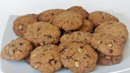 Cookies pâte d'arachide au chocolat et noisettes