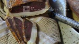 Magret de canard fumé et séché fait maison