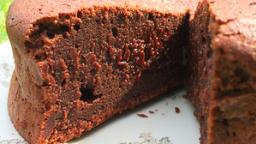 Le fondant au chocolat au Rapadura