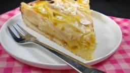 Gâteau d'automne poires-amandes