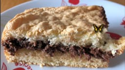 Génoise fourrée au nutella avec le cake factory