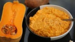 Purée butternut patates douces