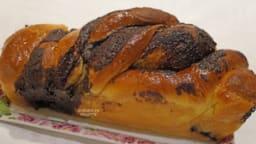 Babka au chocolat et à l'orange (brioche)