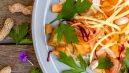 Salade de papaye verte à la thaï
