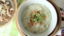 Cháo gà, soupe de riz au poulet