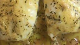 Sauce moutarde pour poisson blanc cuit au four