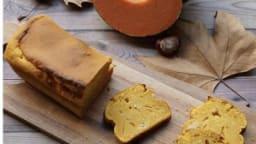Cake au potiron et noix de coco