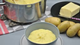 Purée de pommes de terre maison du Chef Joël Robuchon