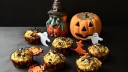 Muffins au potiron et pépites de chocolat