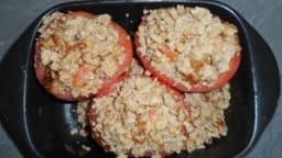 Tomates farcies bœuf-porc