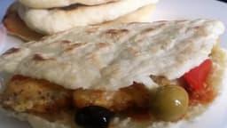 Pain pita Libanais à la poêle