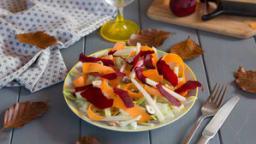 Salade de chou rave et chou blanc