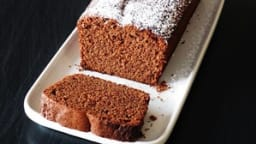 Mon gâteau moelleux au chocolat