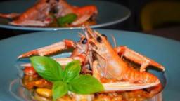 Risotto del mar aux langoustines