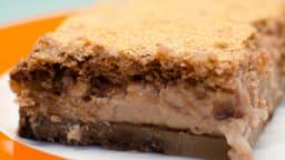Brownie magique au chocolat et aux noisettes