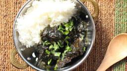 Curry de porc au sésame noir du Meghalaya