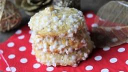 Biscuits au rhum & sucre en grains