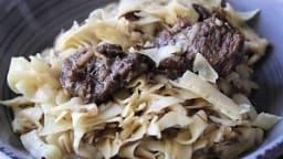 Joues de bœuf aux échalotes confites