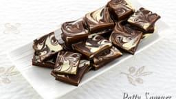 Plaque double chocolat au Bailey's
