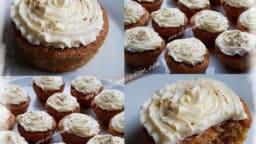 Cupcakes Carotte et Orange