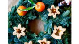 Biscuits vitraux à la mandarine