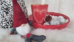 Bredala boule de neige au chocolat