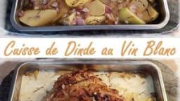 Cuisse de Dinde au Vin Blanc