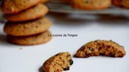 Biscuit moelleux à la crème de marron et pépites de chocolat