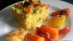 Biryani aux légumes