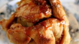 Brioche roulées au pommes et caramel