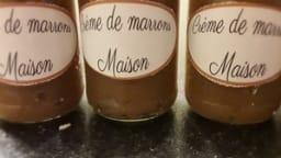 Crème de marrons faite maison