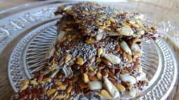 Crackers aux graines de chia et lin