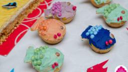 Cupcakes poissons