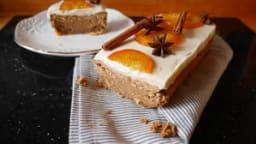 Cake de noël à la brioche et à l'orange