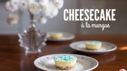 Cheesecake à la mangue sans cuisson