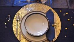 Ma table Douce Nuit de Noël et Menu de fête