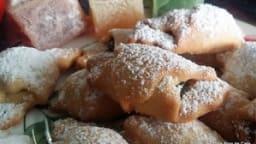 Sablés / croissants au loukoum