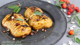 Butternut rôtie aux épices douces façon Hasselback
