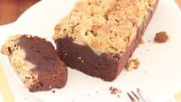 Gâteau crumble poire et chocolat