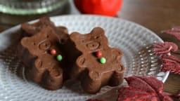 Petits fondants potiron chocolat