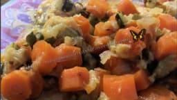 Légumes et poulet