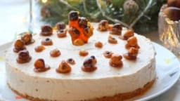 Cheesecake aux marrons