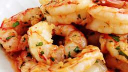 Crevettes ail persil