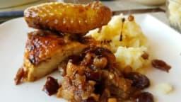 Poularde rôtie sauce aux canneberges et au carvi – Ottolenghi