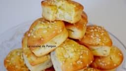 Muffin aux pommes et poudre d'écorce de combava